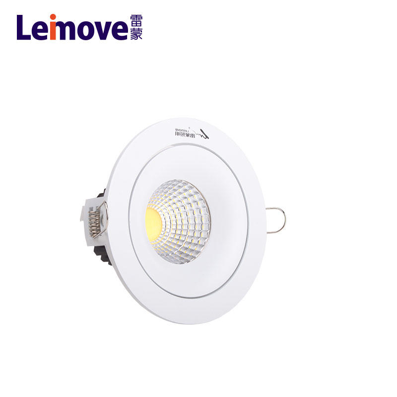 5W recessed led adjustable ceiling light in China