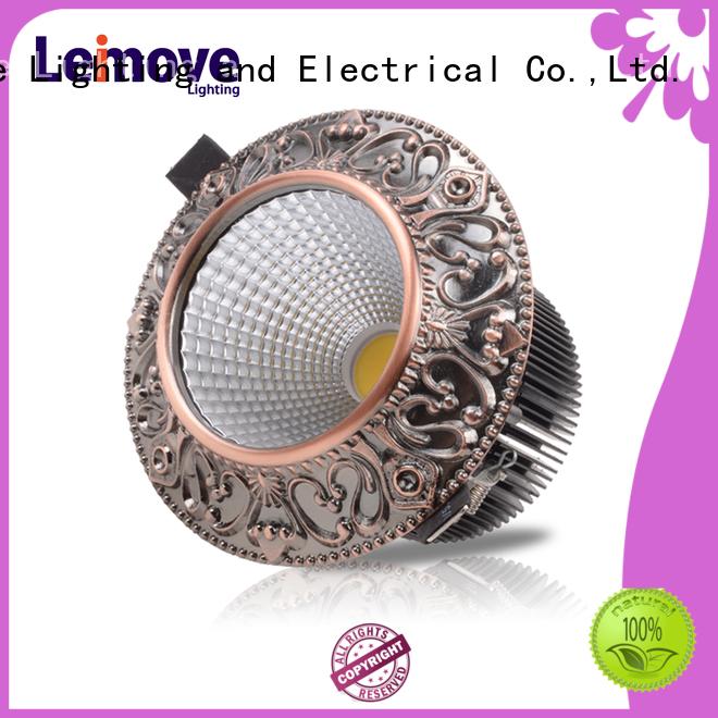 Leimove round shape spotlight led lights ultra bright for sale