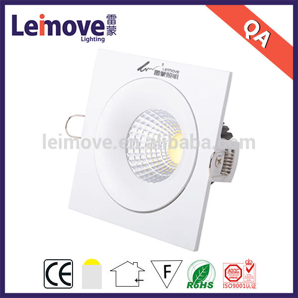 recessed round led ceiling light 24v