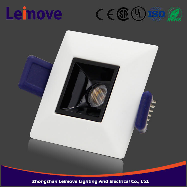 High quality 3w 240lm IP20 factory offer led down light