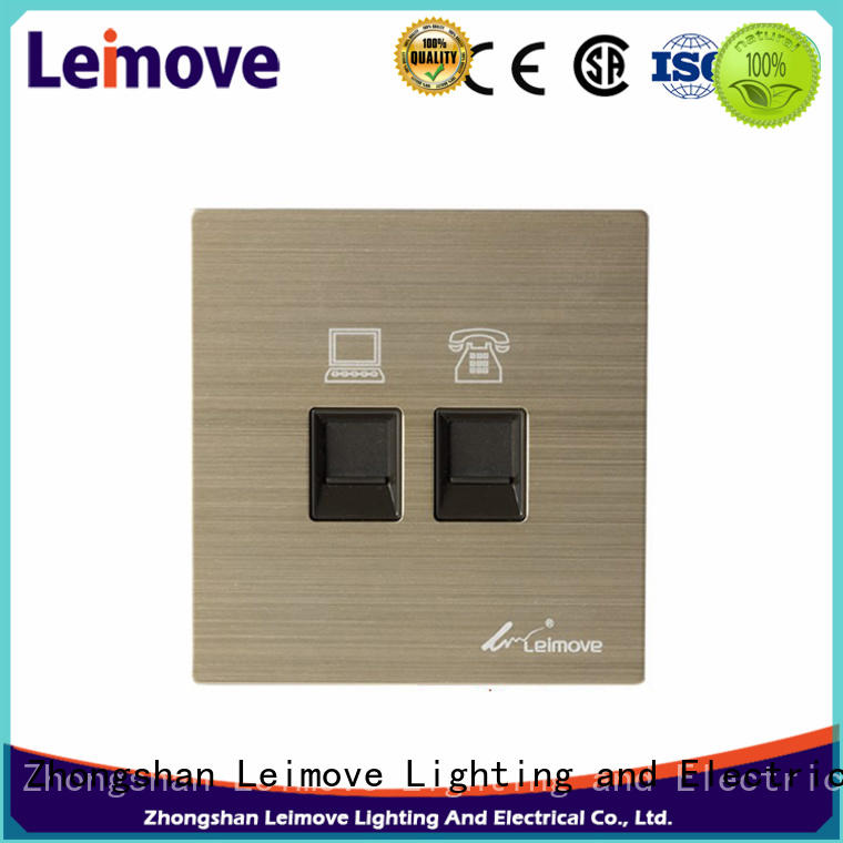 Leimove high tensile strength electric switch simple structure lighting accessories