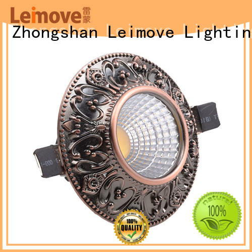 years warranty bathroom led downlights ceiling decoration white milky for customization
