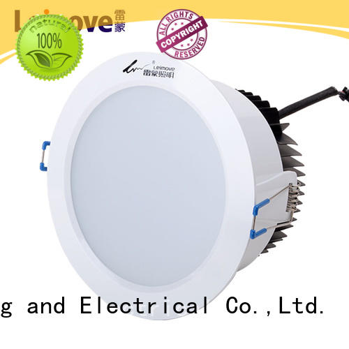 Leimove round dimmable led downlights custom made for sale