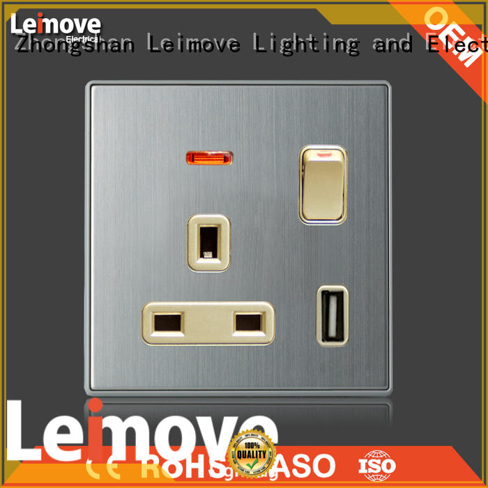 Leimove shock resistance electric switch easy assembly for light