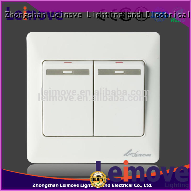 Leimove higher impact resistance electric switch simple structure for wholesale