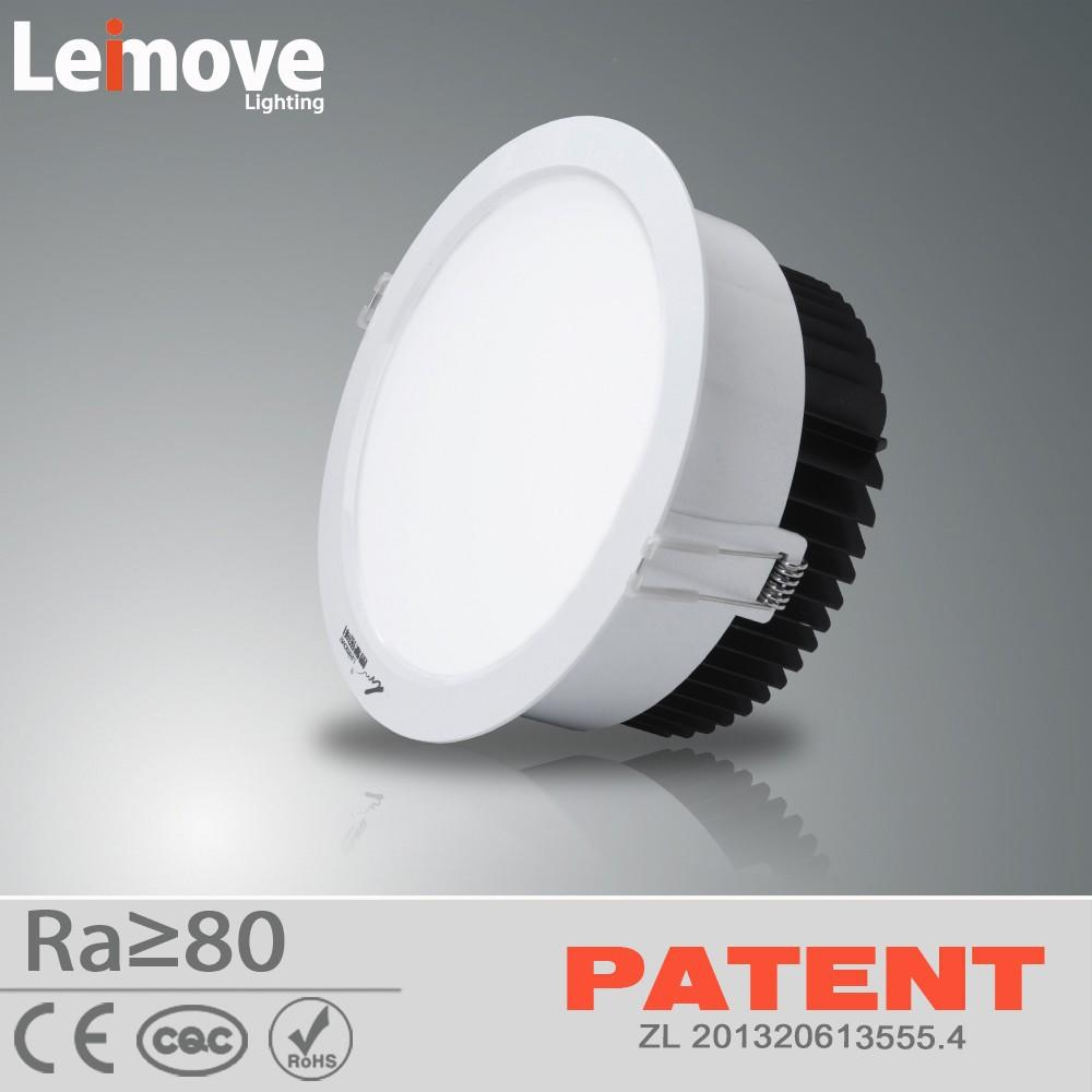 NEW Design 220v recessed ip44 rohs 15w led downlight