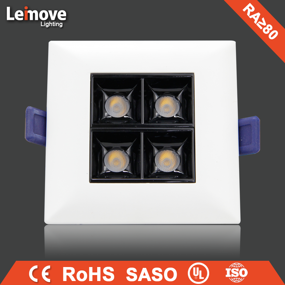LED down light downlight, high power12W twin/double COB led spot down light
