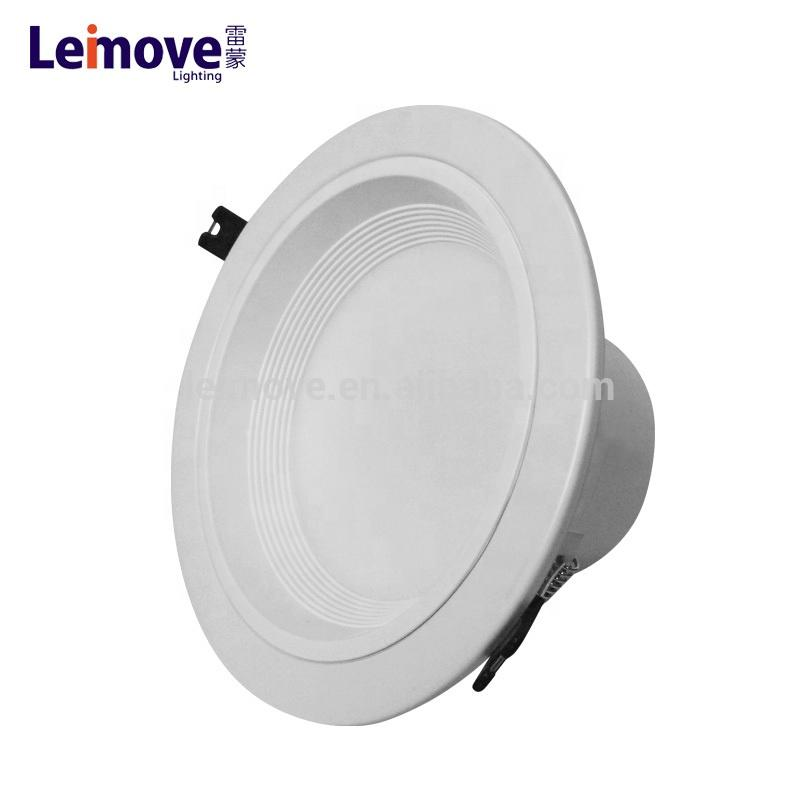 8 inch white housing led ceiling downlights