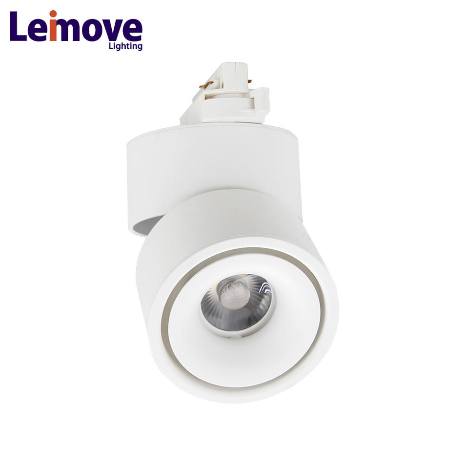 10w ac100-240v cob dimmable track lighting