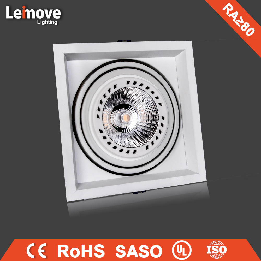 New design Ac100-240V led rectangular downlight with 24w