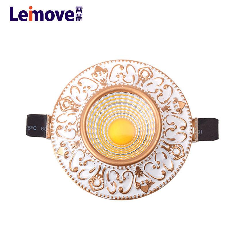 2017 new design round shape 12v led ceiling light
