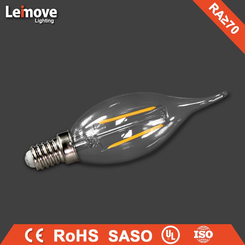 2017 new design e14 5 watt 220v 500 lumen led bulb light price