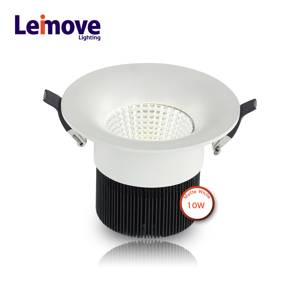 10W commercial led recessed downlight led for emergency with factory price