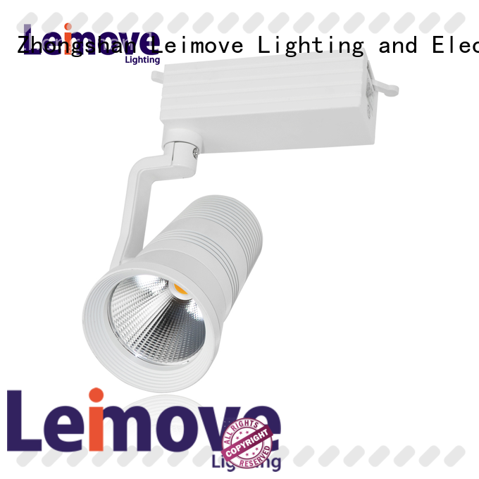 Leimove ce approved dimmable led track lighting hot-sale free design