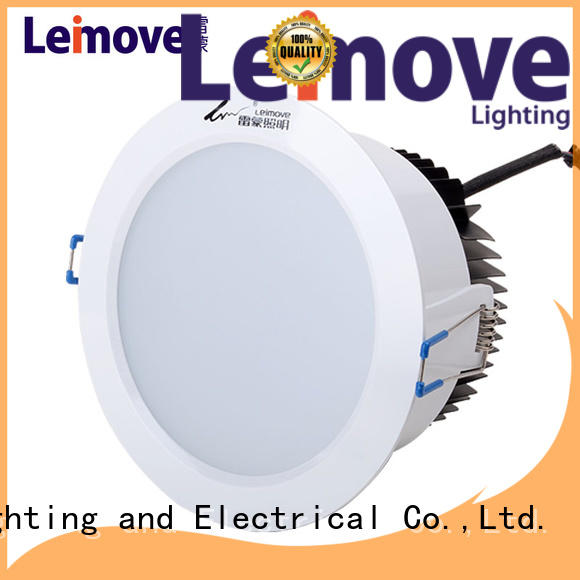 commercial illumination bathroom led downlights ceiling decoration white milky for customization