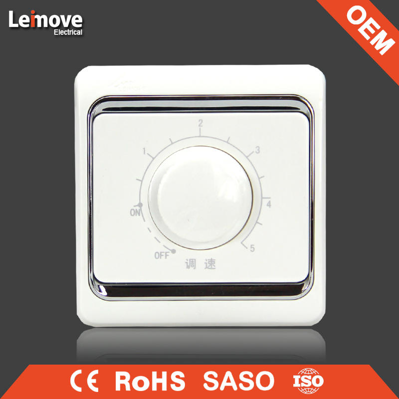European and Classic fan regulator switch fan speed control wall switch