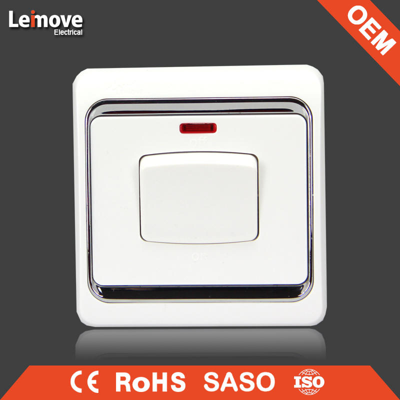 European and Classic 630W dimmer wall switch
