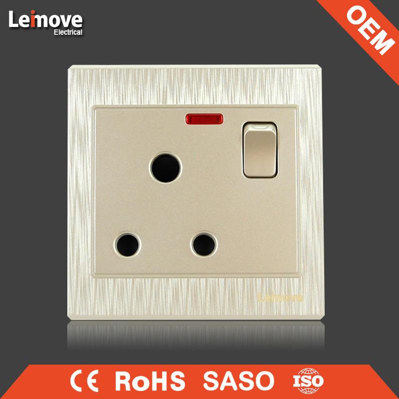 woven gold finish fan regulator switch fan speed control switch
