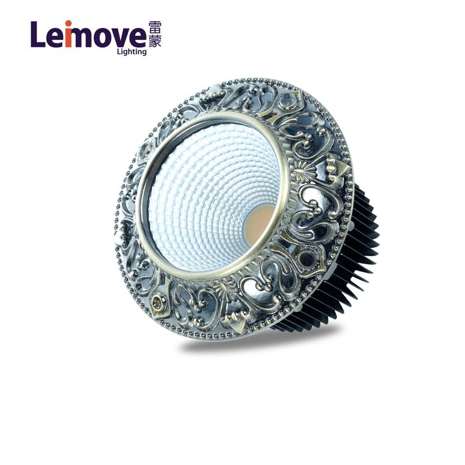 10W glare free decoration casing cob downlight