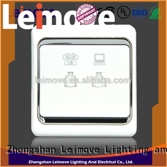 Leimove flame retardant electric switch free delivery for wholesale