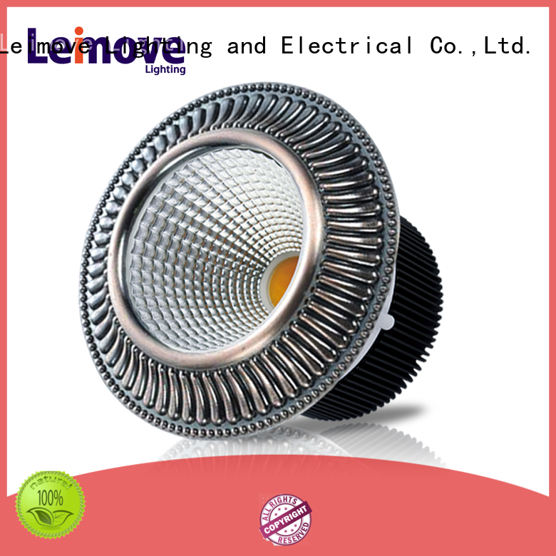 Leimove recessed led recessed downlights white milky for customization