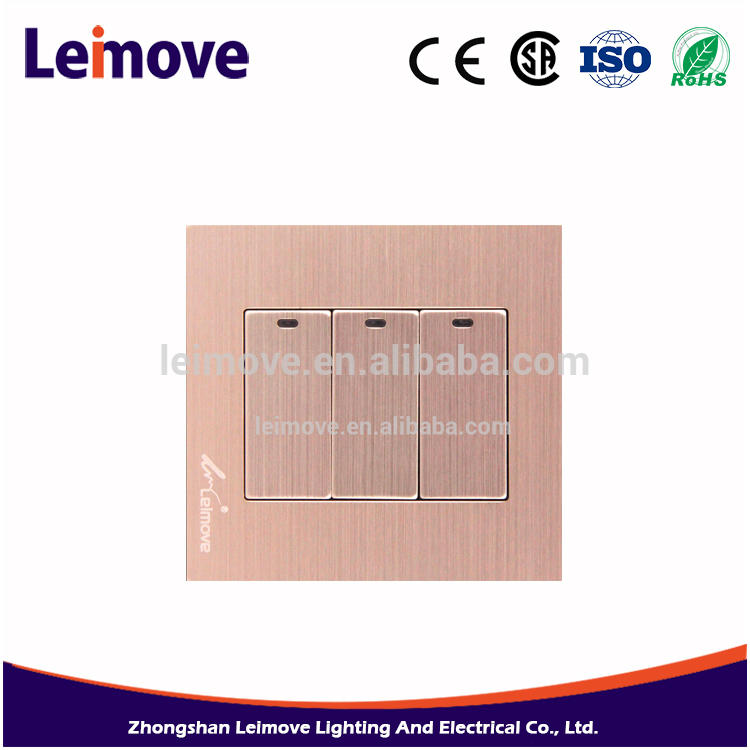Factory free sample 250V/10A Universal wall gsm power socket