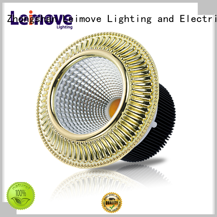 Leimove gold dimmable led spotlight bulbs ultra bright for sale