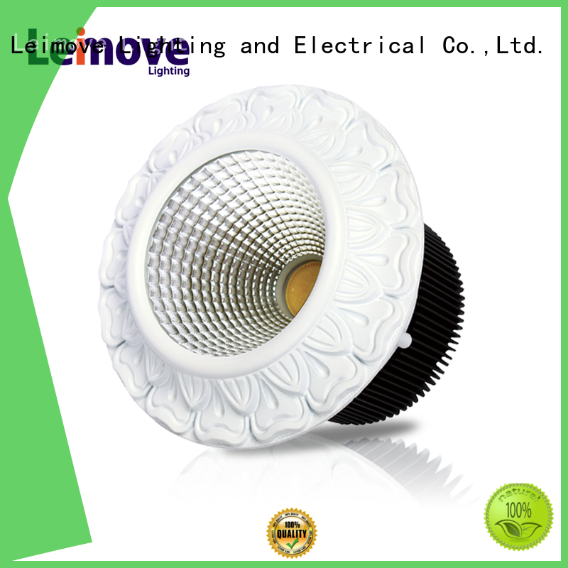 energy-saving led spotlight bulbs round shape recessed for wholesale