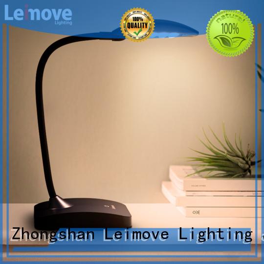 Leimove custom led reading lamp bulk production for student