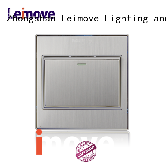 Leimove high tensile strength electric switch simple structure for wholesale