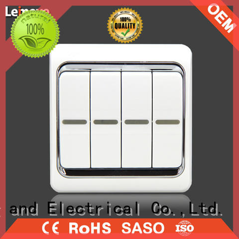 Leimove higher impact resistance electric switch free delivery for light