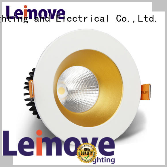 Leimove gold best led spotlight recessed for decoration