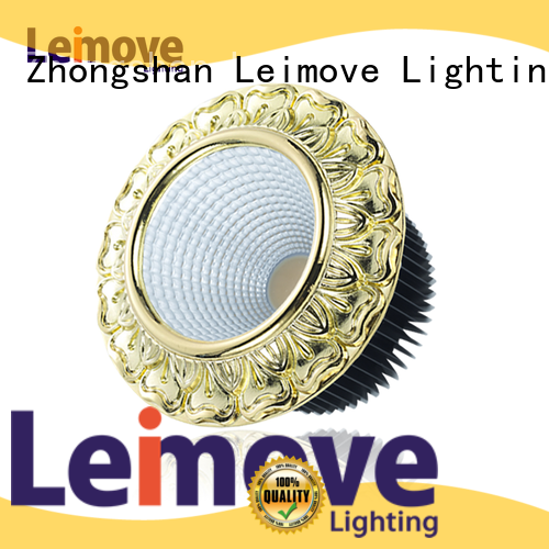 Leimove round shape led spot light ceiling for decoration