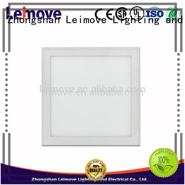 Leimove energy-saving led square panel light high-quality for wholesale