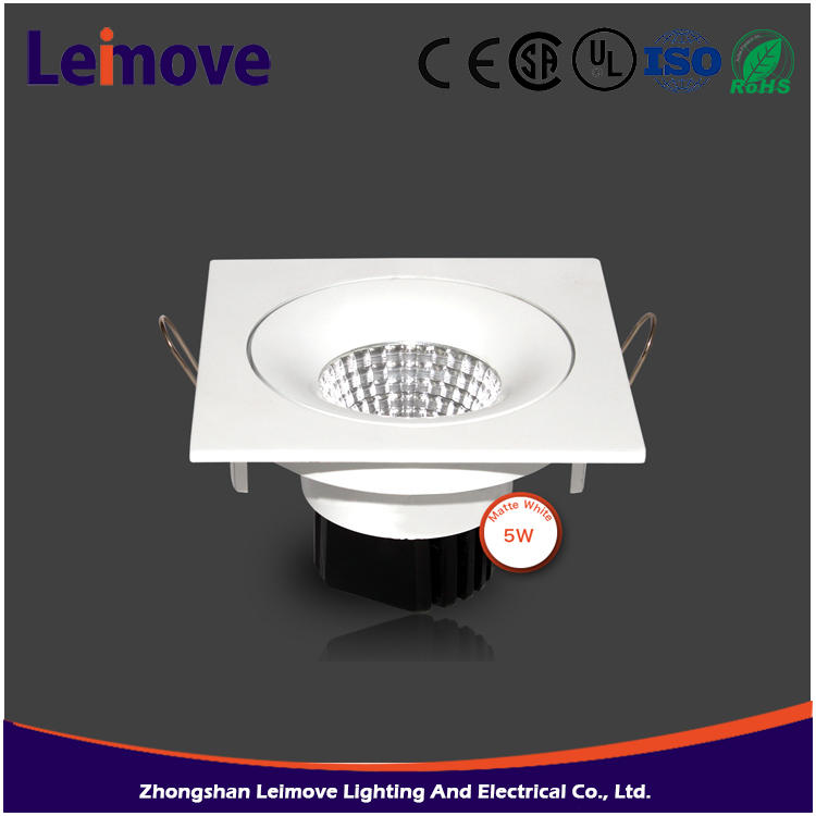 Dimmable led inbouwspots 10w cob inbouw gu10 led spotlight