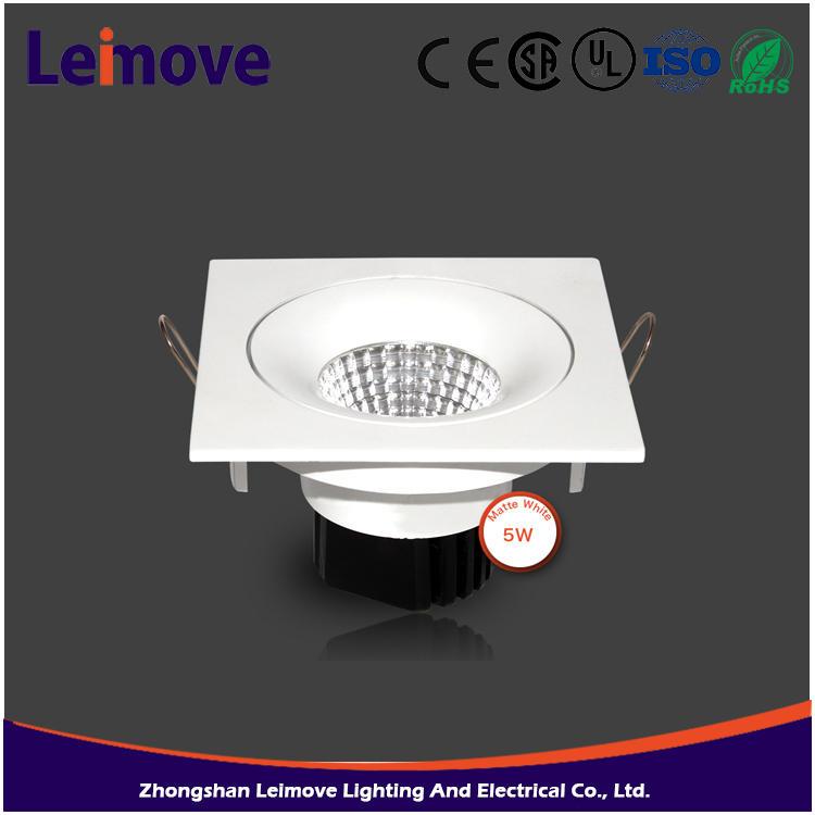 Dimmable led inbouwspots 10w cob inbouw gu10 led spotlight