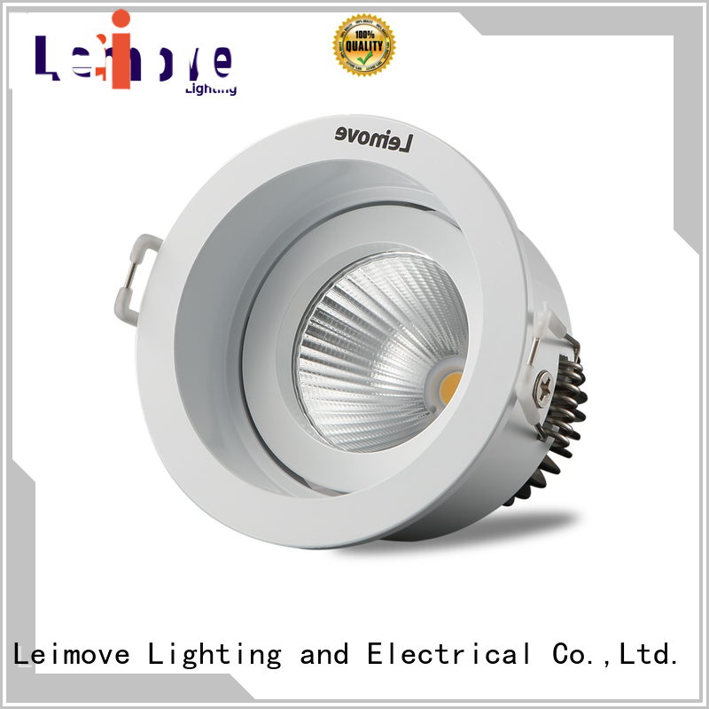 recessed led recessed downlights cob white milky for wholesale