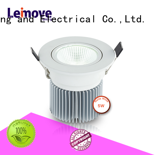 Leimove round dimmable led downlights custom made for wholesale