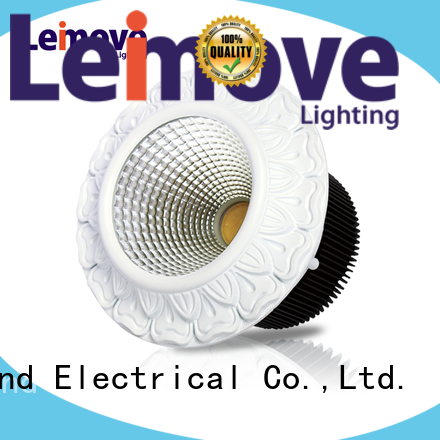 Leimove round shape spot lights led recessed for decoration