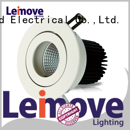 Leimove gold colored led spotlights recessed for decoration