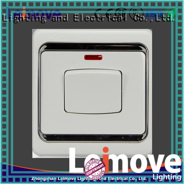 Leimove flame retardant electric switch simple structure for light