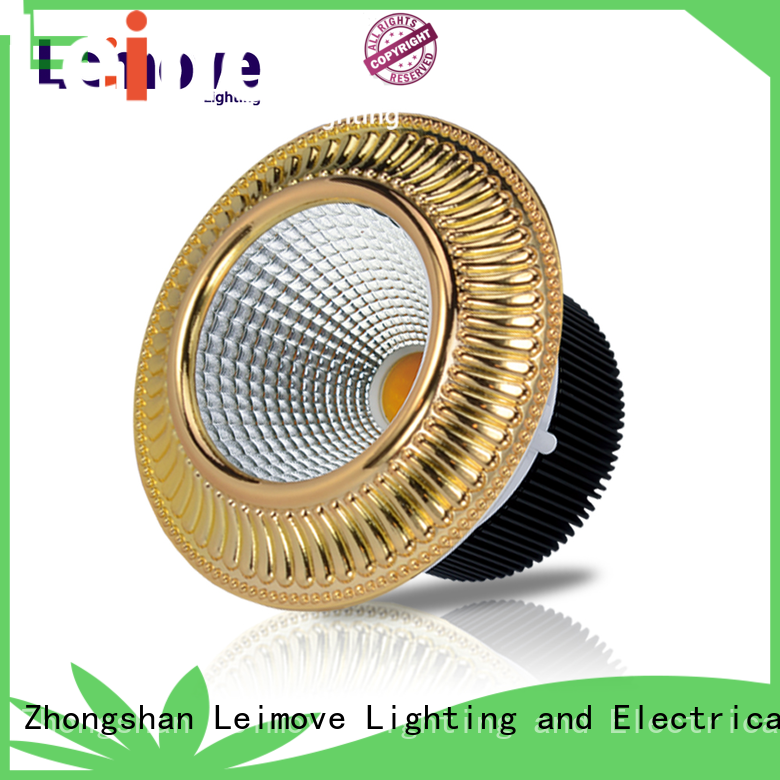 Leimove round led recessed downlights custom made for wholesale