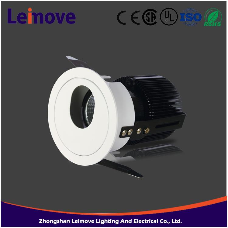60 Degree Beam Angle 1000lm GU10 10W aluminium led spotlight