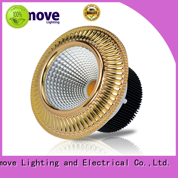 gold spot led light round shape ultra bright for wholesale