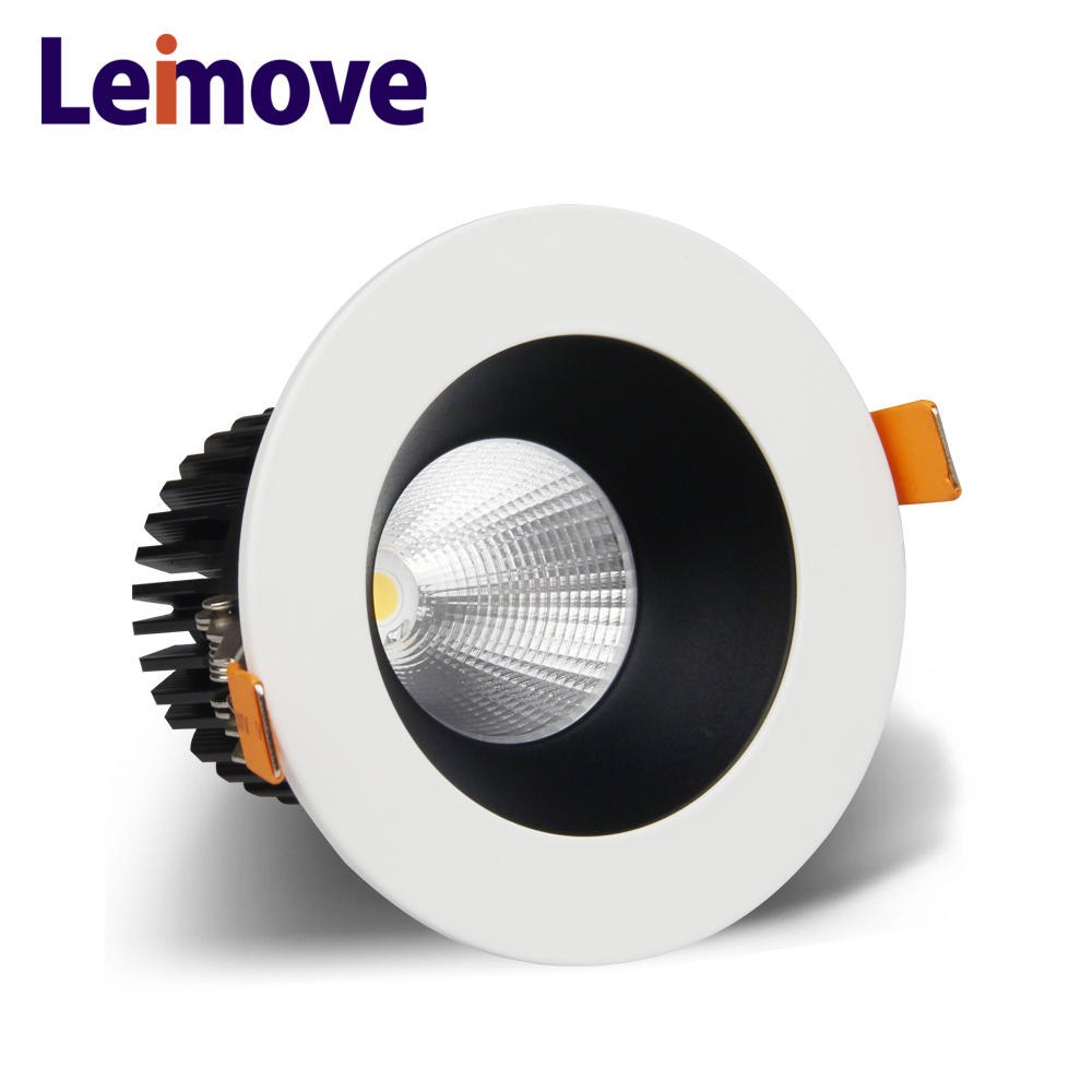led lens integrated power 8 inch recessed downlight 6W COB