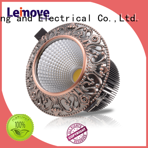 Leimove silver-gold spot lights led ultra bright for decoration