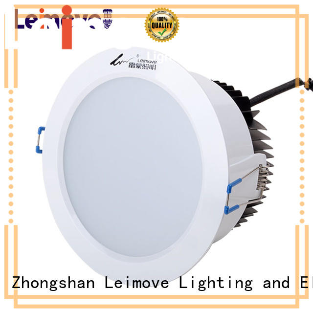 years warranty dimmable led downlights round custom made for wholesale