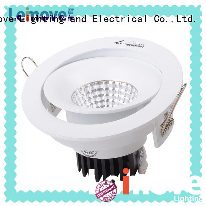 Leimove copper led spotlights for sale recessed for wholesale