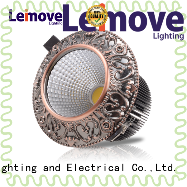 Leimove commercial illumination led recessed downlights surface mounted for sale