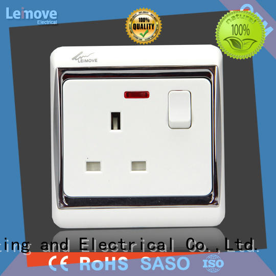Leimove high quality plug socket easy cleaning by bulk